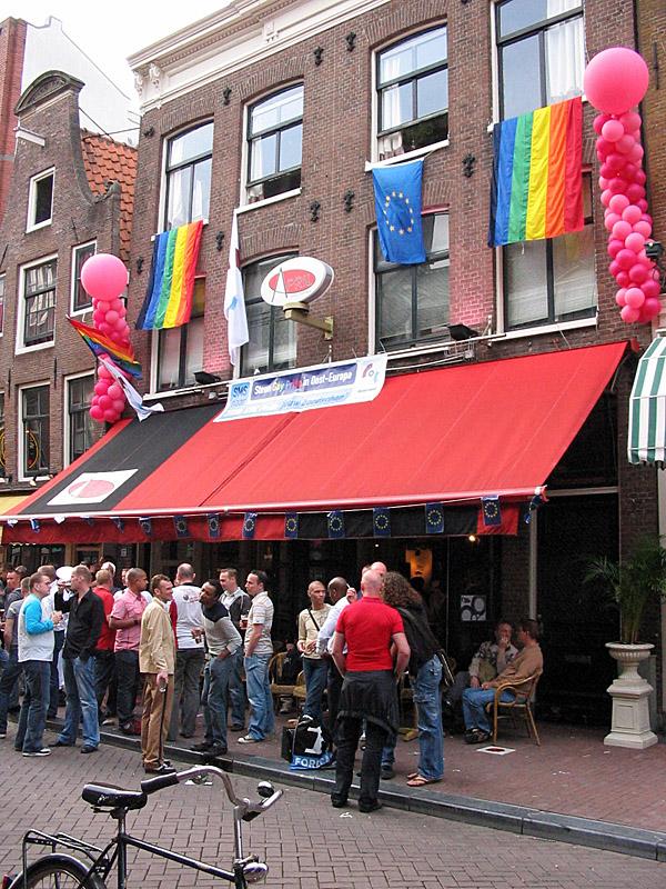 Gay café April in 2007