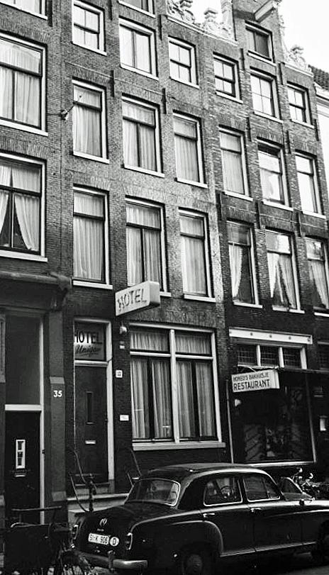 Homohotel Unique in de Kerkstraat